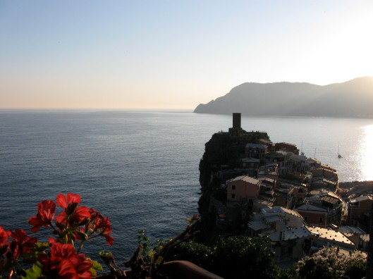 View from Vernazza