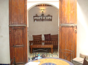 Lounge room at Dar El Hana
