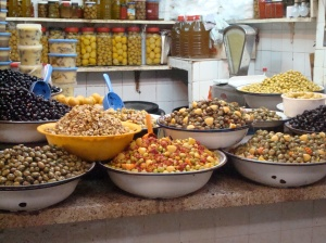 olives in the Fes medina