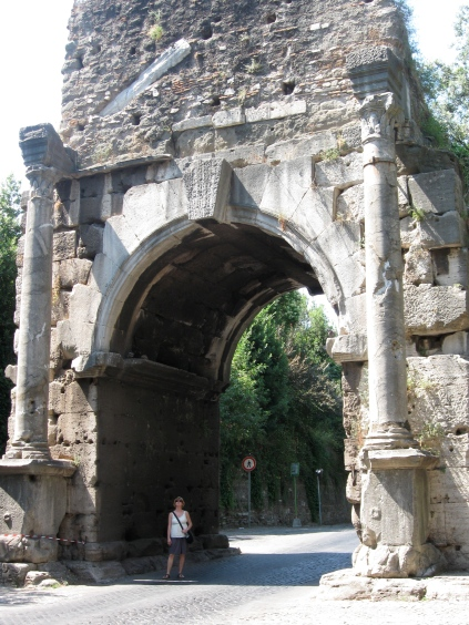 Porta San Sebastiano, Rome, Italy