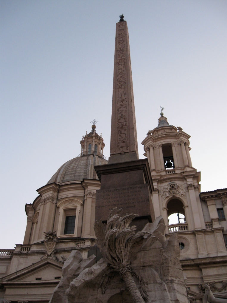 Four Rivers Fountain, Piazza Navona, Rome, Italy