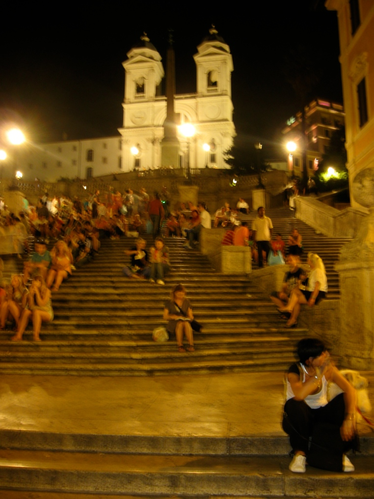 Spanish Steps, Piazza di Spagna, Rome, Italy