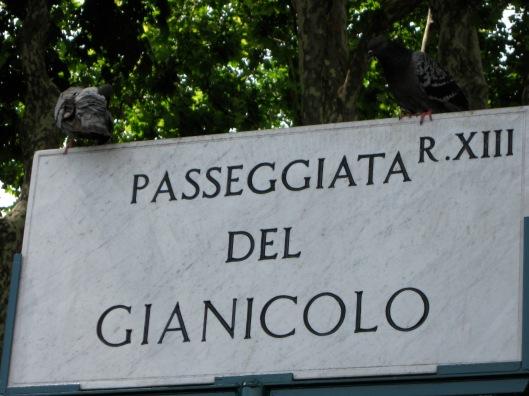 Passeggiata del Gianicolo, Rome, Italy