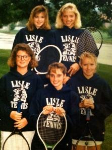 Tennis bunch